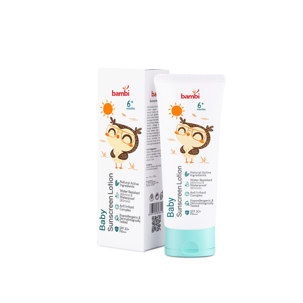 Bambi Baby Sunscreen Lotion