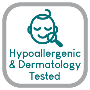 HYPOALLERGENIC DERMOTOLOGY TESTED